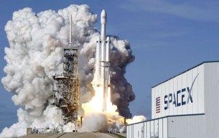 Falcon Heavy klar til første mission