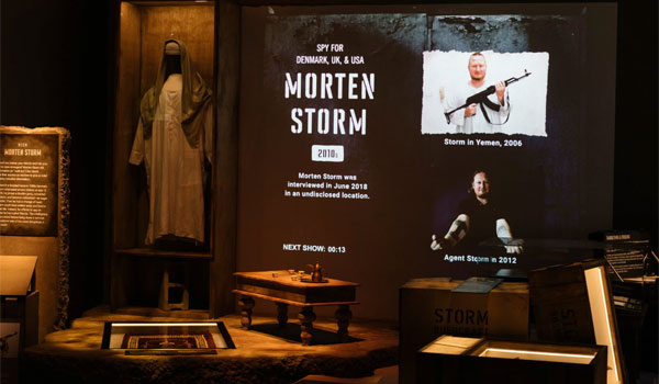 Morten Storm Spion Museum USA