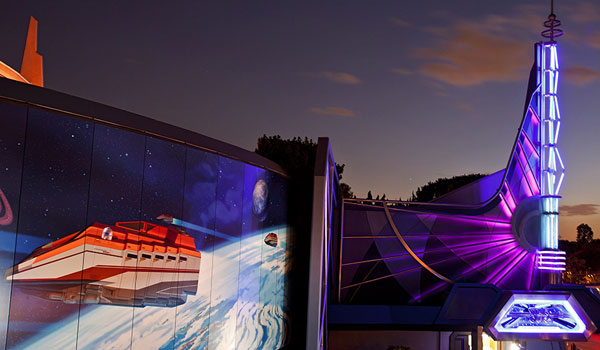 Tomorrowland i Disneyland