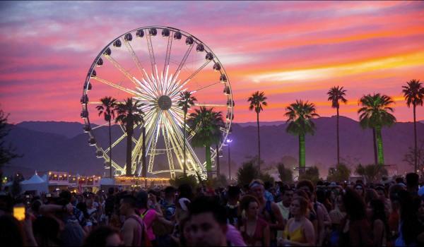 Coachella Festival Californien