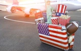 Kuffert USA rejse