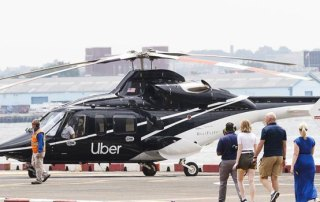 Uber helikopter New York