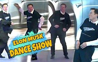 Elon Musk dans - Tesla Kina