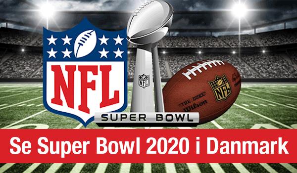 Super Bowl 2020 Danmark
