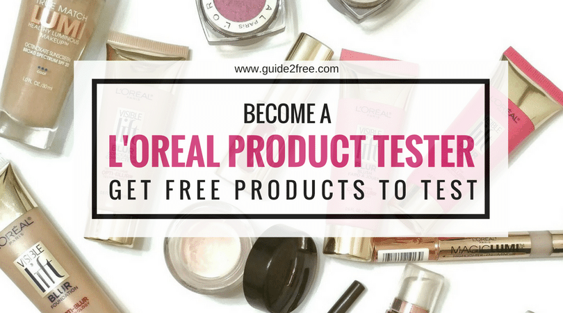 L OREAL PRODUCT TESTING PANEL