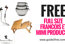 FREE Francois et Mimi Full Size Products
