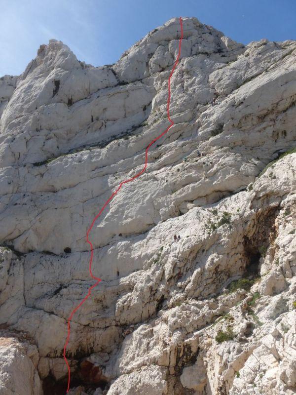 Escalade Dans Les Calanques- Rock Climbing - Sormiou