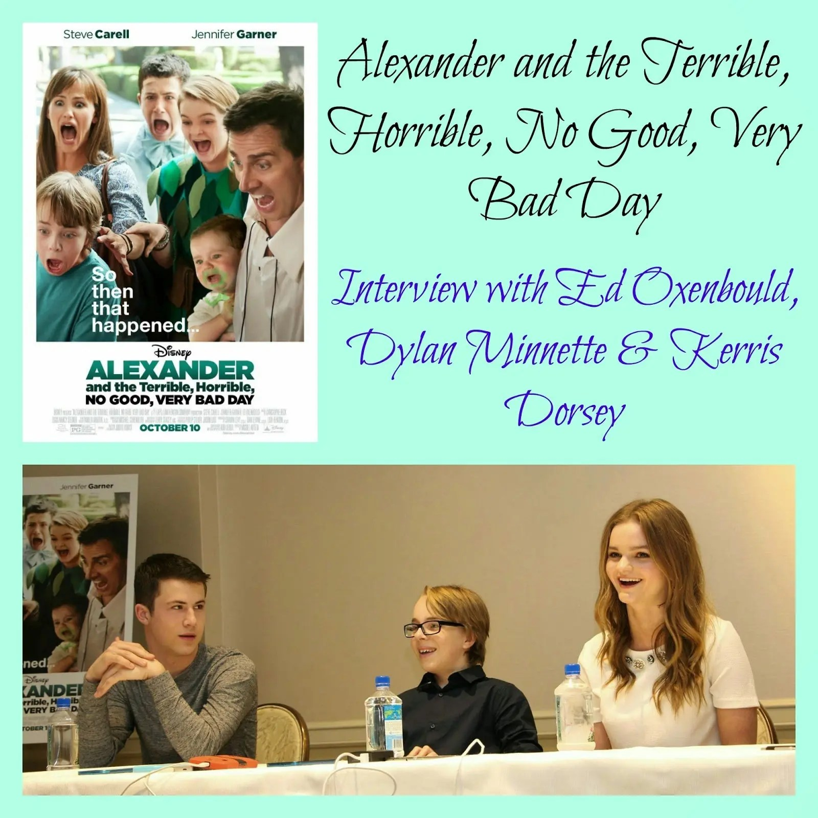 The Kids Of Alexander And The Terrible Horrible No Good