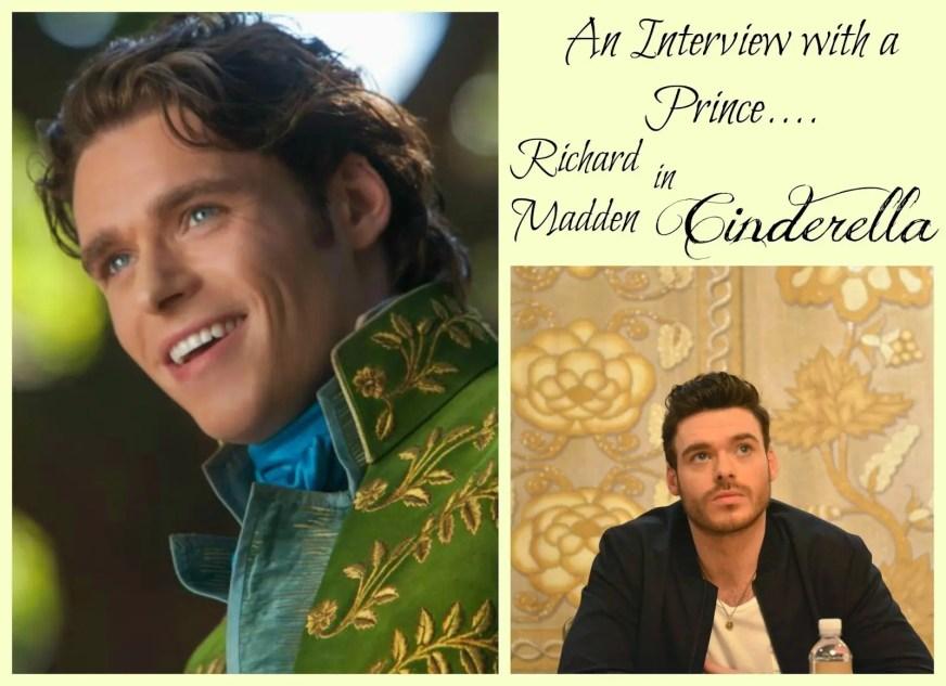 An Interview with a Prince: Richard Madden in Cinderella