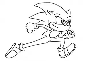 Sonic The Hedgehog Coloring Pages & Activities: FREE