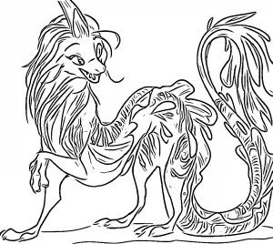 Raya And The Last Dragon Coloring Pages & Activities