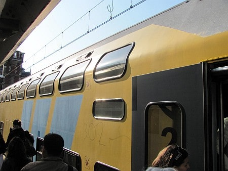 Train in Holland
