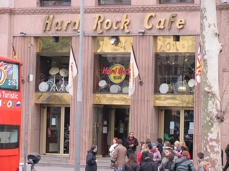 Hard Rock Cafe  Barcelona Guide