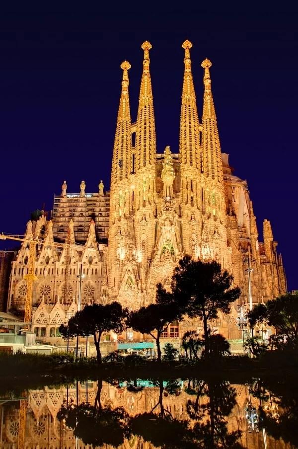 Superromantiske steder i Barcelona