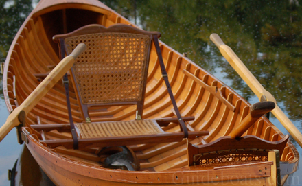 Adirondack Guideboat Services Provided by Woodward