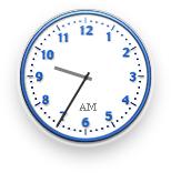 Mac OS X Clock