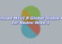 Download MIUI 8 Global Stable ROM for Redmi Note 3