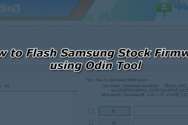 How to Flash Samsung Stock Firmware using Odin Tool
