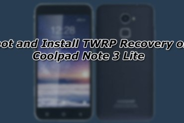 Root and Install TWRP Recovery on Coolpad Note 3 Lite