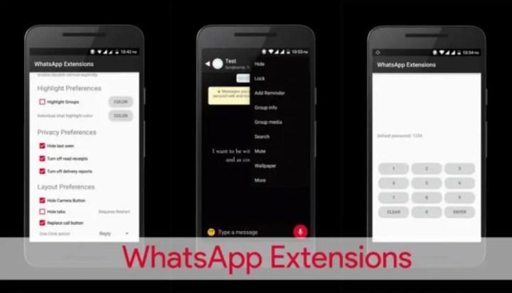 Whatsapp Extension
