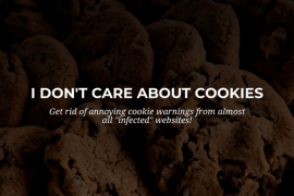 How to Hide Accept Cookies Messages from Websites