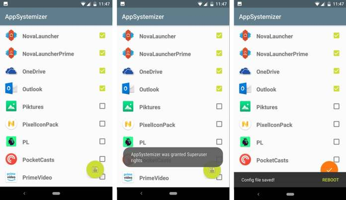 App Systemizer