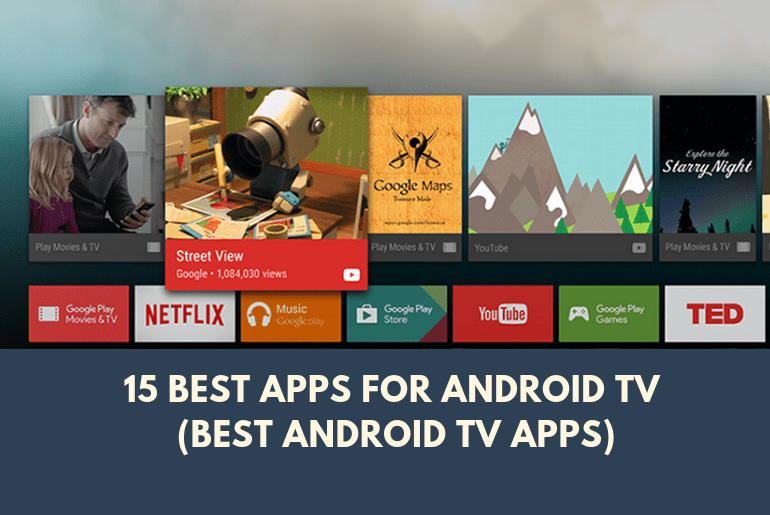 15 Best Apps for Android TV (Best Android TV Apps) - GuideGeekz