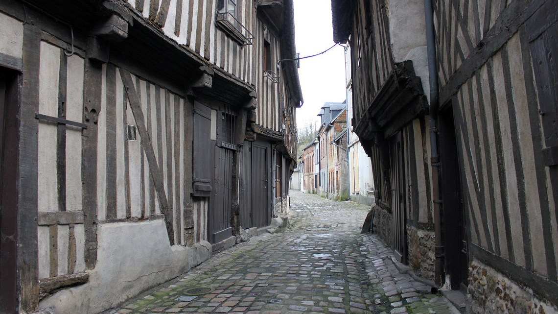 Orbec-en-Auge en Normandie