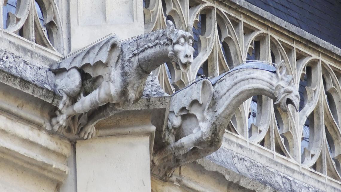 La ville de Rouen-Details-By-Jude