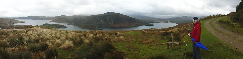 Caragh Lake panorama P1010385