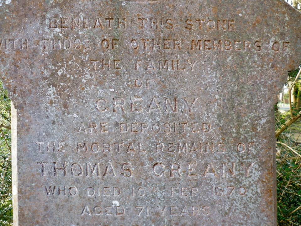 Grany headstone P1010455