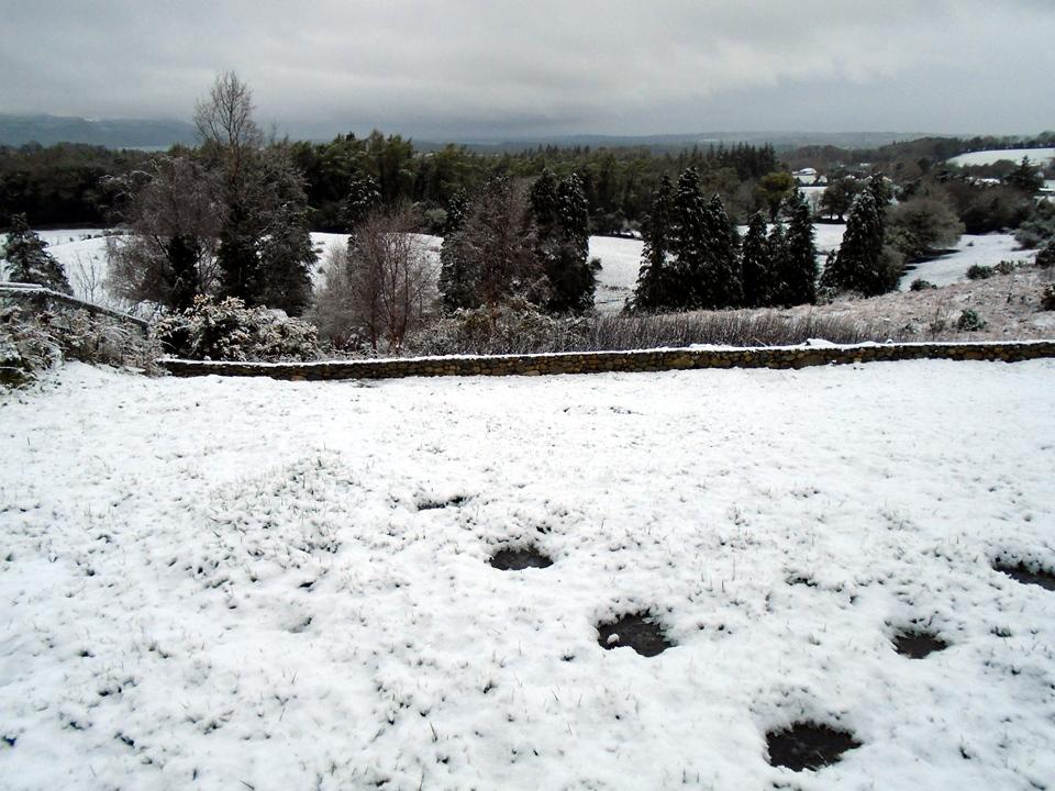 Snow at Gallan