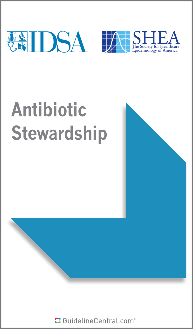 Antibiotic Stewardship GUIDELINES Pocket Guide  Guideline