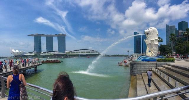 新加坡-夜景-金沙酒店-空中花園-無邊際泳池-景點-浪漫-求婚-魚尾獅