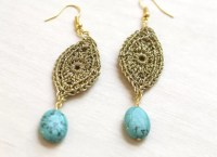 16 Cool Crochet Earring Patterns | Guide Patterns