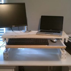 keyboard and mouse stand for standing desk ashley furniture burkesville 21 diy or up ideas guide
