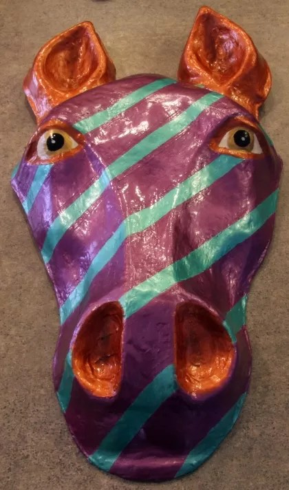 23 Cool Paper Mache Mask Ideas Guide Patterns - Modern Home Revolution