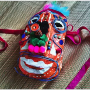23 Cool Paper Mache Mask Ideas Guide Patterns (3) - Modern Home