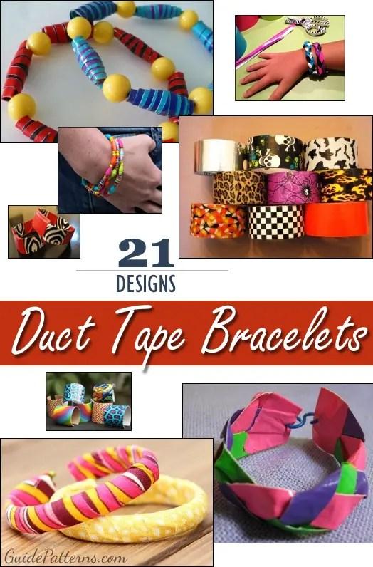 21 unique duct tape