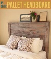 27 DIY Pallet Headboard Ideas | Guide Patterns