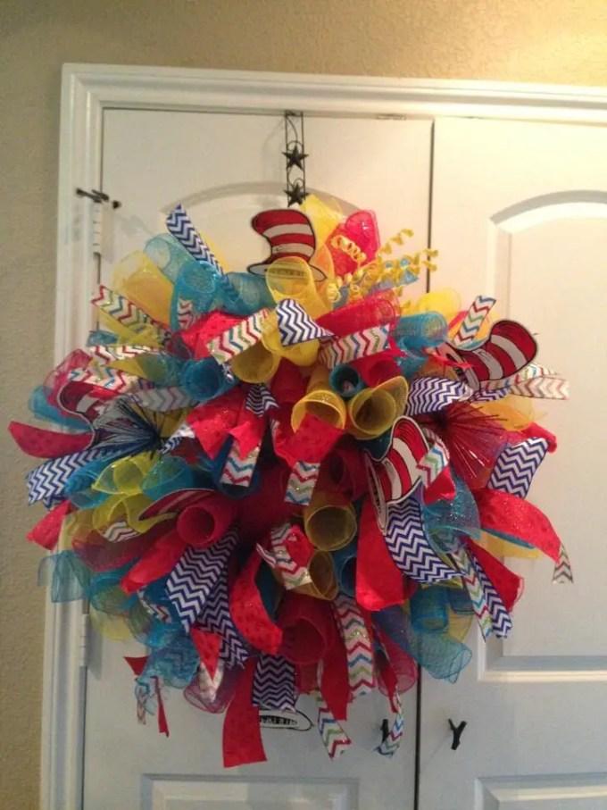Deco Mesh Wreath Diy Diydry