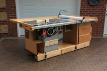 Table Saw Router Cabinet Plans