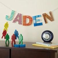 21 DIY Cardboard Letters | Guide Patterns