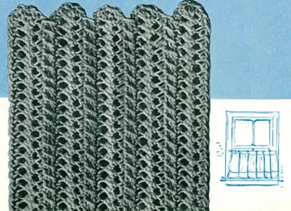 Crochet Curtains Pattern
