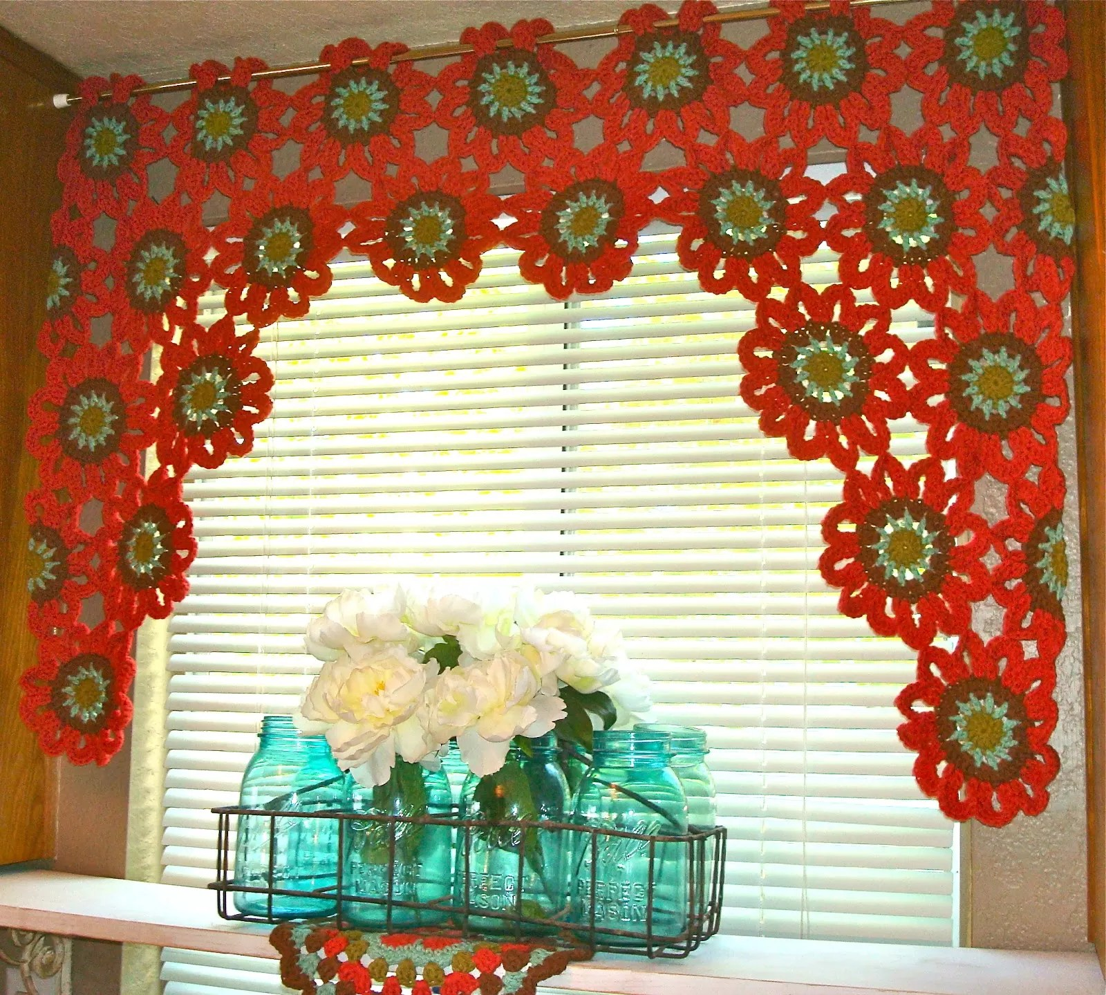 19 Cool Patterns For Crochet Curtains Guide Patterns