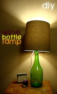 12 Ways to Make a Wine Bottle Lamp | Guide Patterns
