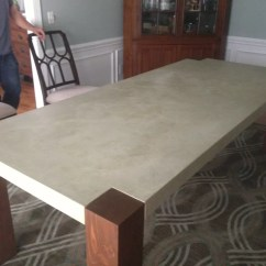 Make Kitchen Table Corian Countertops How To Build A Dining Room 13 Diy Plans Guide Patterns Concrete