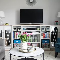 Living Room Tv Setup Images Of Decor 13 Diy Plans For Building A Stand | Guide Patterns