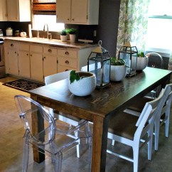 Build Kitchen Table Delta Motion Sensor Faucet How To A Dining Room 13 Diy Plans Guide Patterns