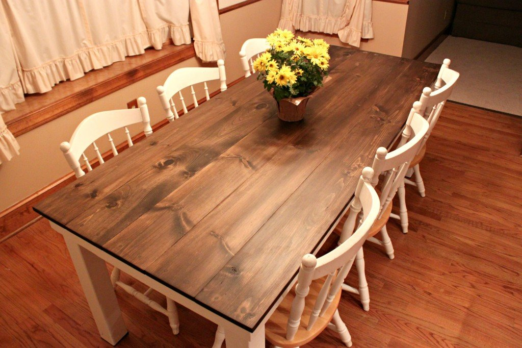 build kitchen table backsplash home depot how to a dining room 13 diy plans guide patterns farmhouse